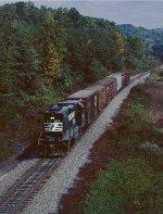 Westbound train #87.