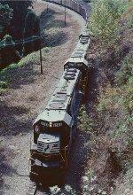 Train #256, Catawba coal train.