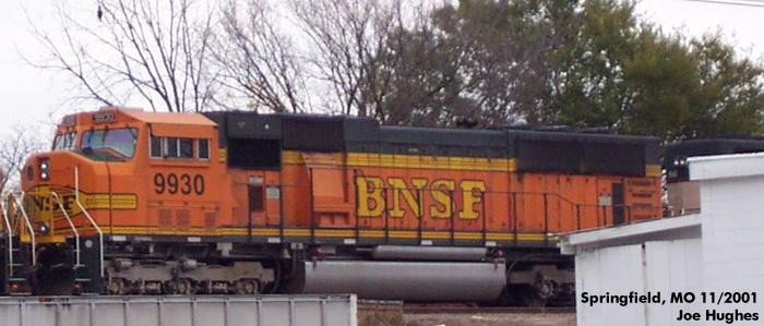 BNSF 9930