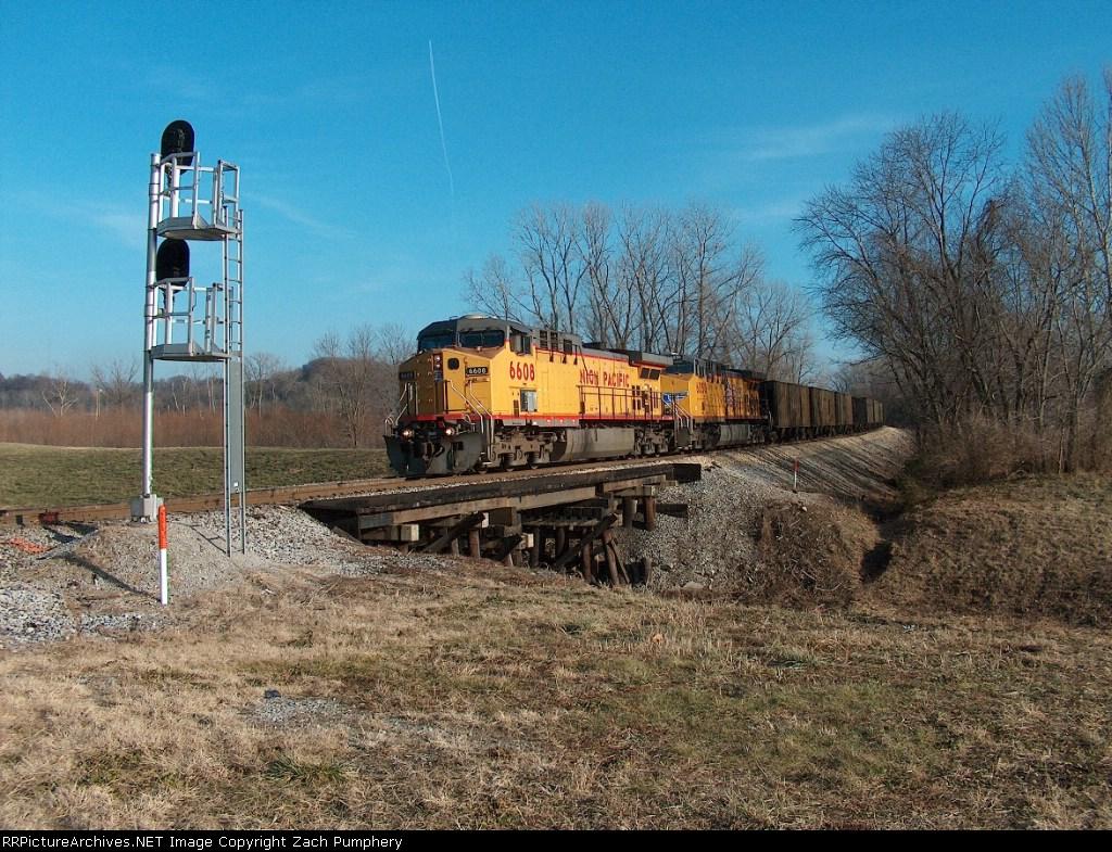 Northbound UP Empty Coal Train