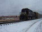 NS Led Southbound Automobile Train