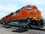 Westbound BNSF Manifest With a Heritage III BNSF 7647 ES44DC