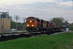 BNSF 4639 Leads one hell of a set of power..