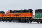 BNSF 2693 Fresh from the Shops.