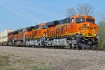BNSF 8221 Smell that paint.....