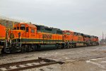 BNSF 2264 a Geep on a Oil train!!