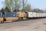 UP 7493 mid train Dpu.