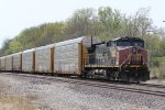 UP 6374 Ex Sp on the BNSF Transcon.