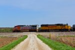 BNSF 913 Races across the Missouri farm fields like it did 20 years before.