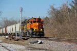 BNSF 2681 Heads up the local.