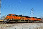 BNSF 6437 Lite power at the TRRA.