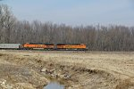 BNSF 6351 Leads a CAEG train SB.
