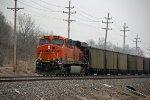 BNSF 6241 Runs Dpu on a empty coal train.