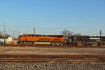 BNSF 7131 Heads NS 240 NB.
