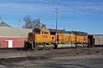 BNSF 9945 Dpu on a coal load.