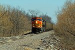 BNSF 9985 Heads up a empty Slc coal.