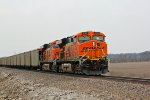 BNSF 6180 And BNSF 6017 work Dpu mode today.