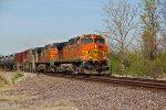 BNSF 5288 Rolls a oil can..
