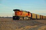 BNSF 5969 Works Dpu on a loaded coal train.