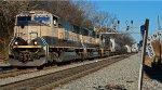 BNSF SD70MAC leading NS 153