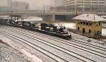 NS P76 in the snow.