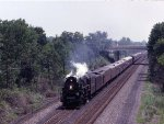 NKP 765 highballs along the old Reading RR