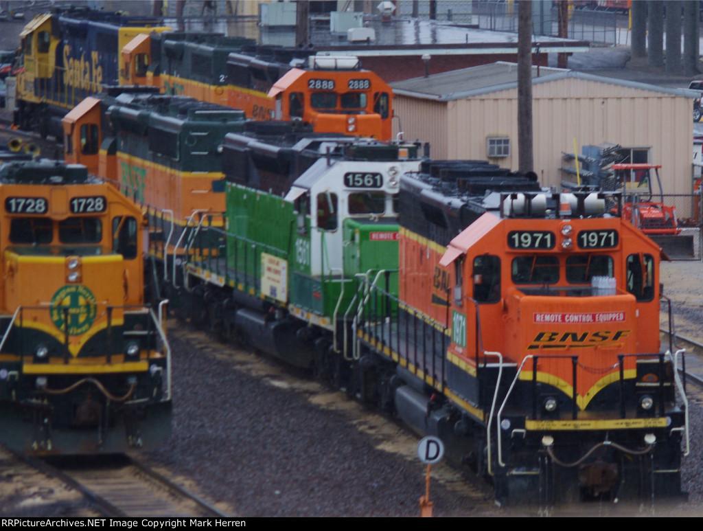 Wet Locomotives