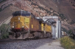 UP 6447 in Weber Canyon