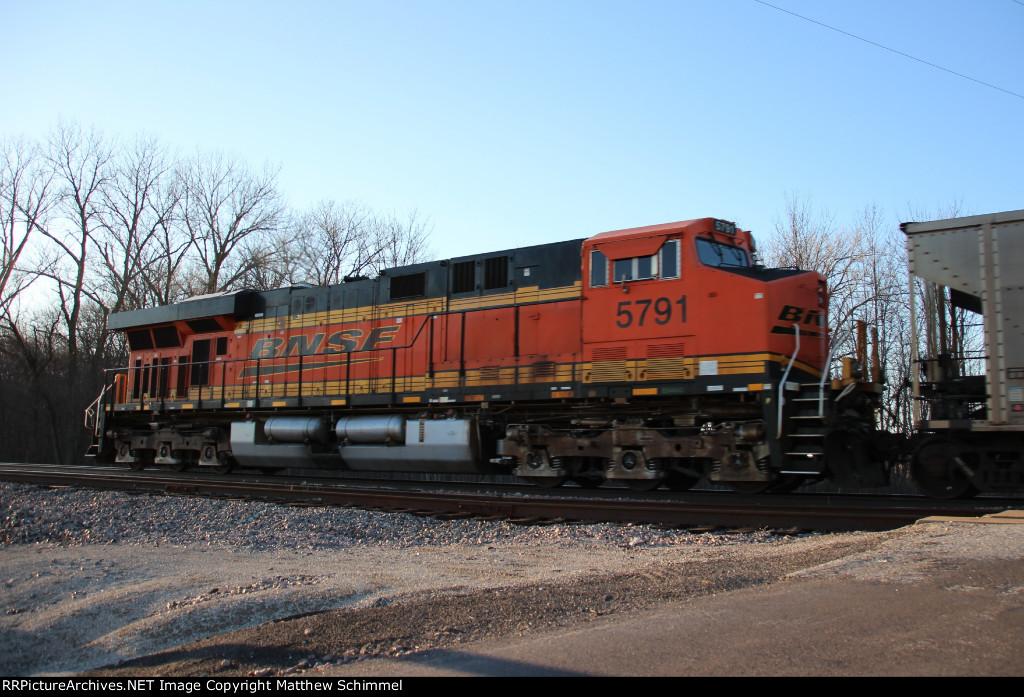 BNSF 5791 - DPU