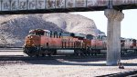 BNSF 7865 in the lead