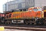 BNSF At Grain Terminal
