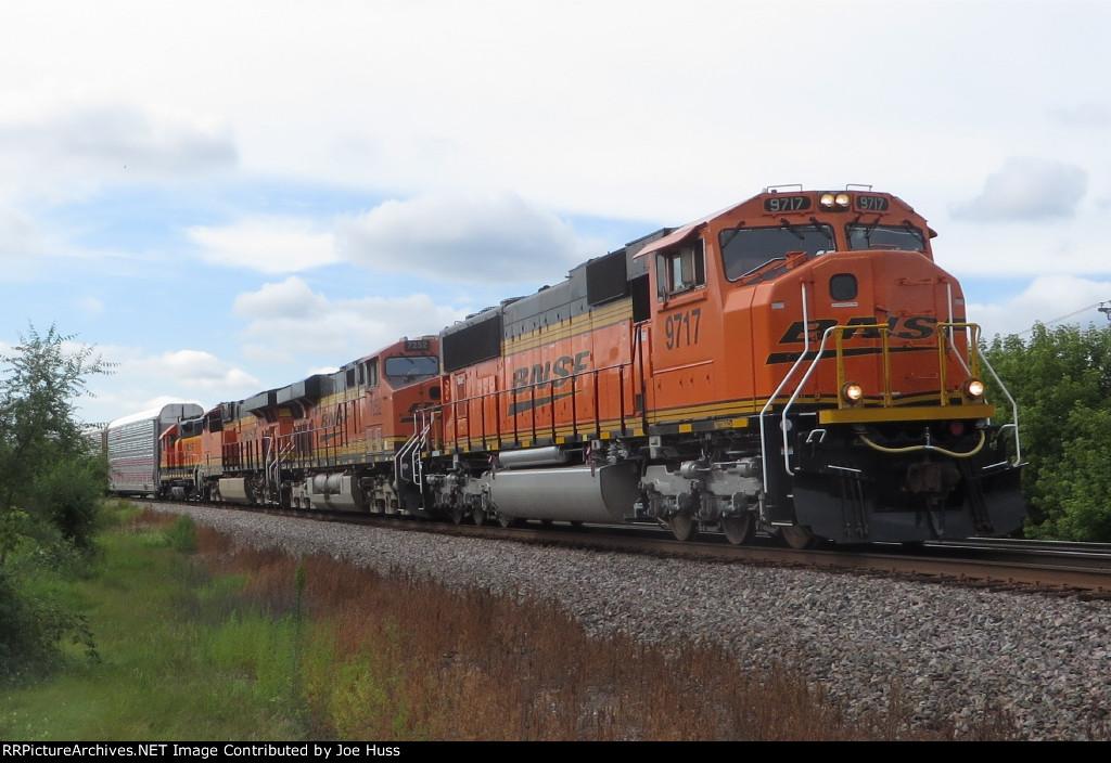 BNSF 9717 East