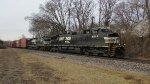 NS Train 285 along Redmond Ave in Ferguson, MO