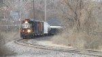 NS Train D53 passes through Ferguson headed for the Junction.