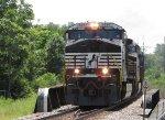 NS Train 112 Crossing Florissant Road