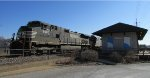 NS Train 218 passes Ferguson Station