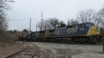 CSX train ready to unload for Radnor, with lumber!