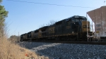EMD rules this! CSXT Q583 at Wartrace, TN with an SD40-2 and SD50-2 in the shadow