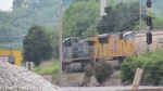 CSX 49 and UP 5178