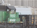 BNSF 1662 and GNTX 295643