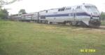 Wrecked Amtrak Train