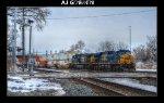CSX 5344 & 419