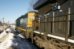 CSX 8052 - Getting ready to depart CP90