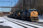 CSX SD70AC 4720 leads Q439-30