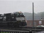 Railfanning in the Rain