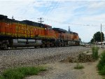 BNSF 6546 eastbound, going away