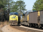 Mar 4, 2006 - CSX 22 on N115 meets a northbound empties
