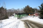 Big Green Snowplow