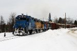 Big Train in Northern Maine