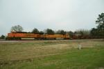 BNSF 7565, 8939 - CWR Train